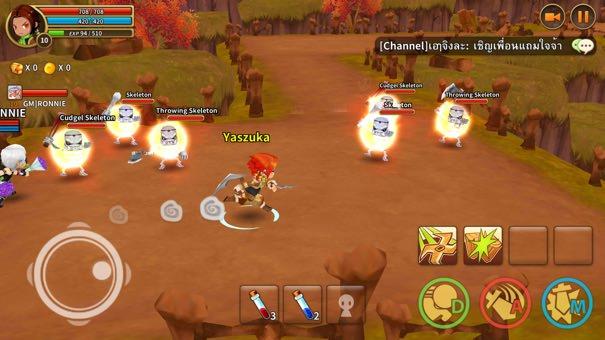 Pengalaman Bermain Dragonica Online dalam Genggaman
