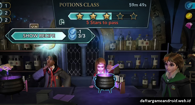 Game Harry Potter - Hogwarts Mystery2