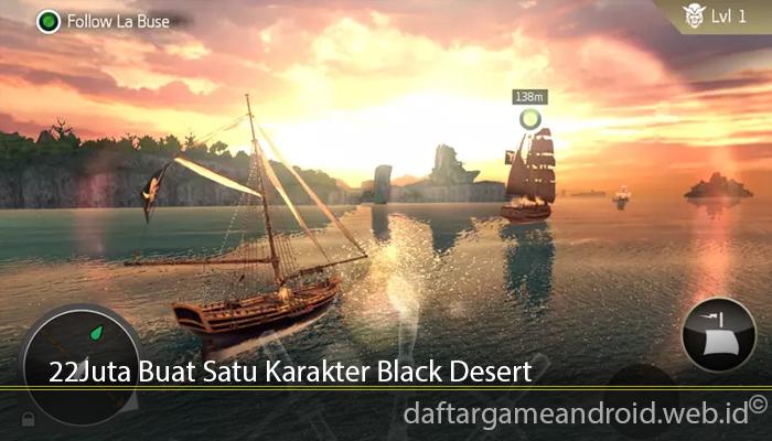22 Juta Buat Satu Karakter Black Desert