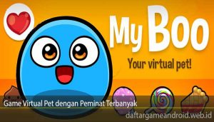 Game Virtual Pet dengan Peminat Terbanyak