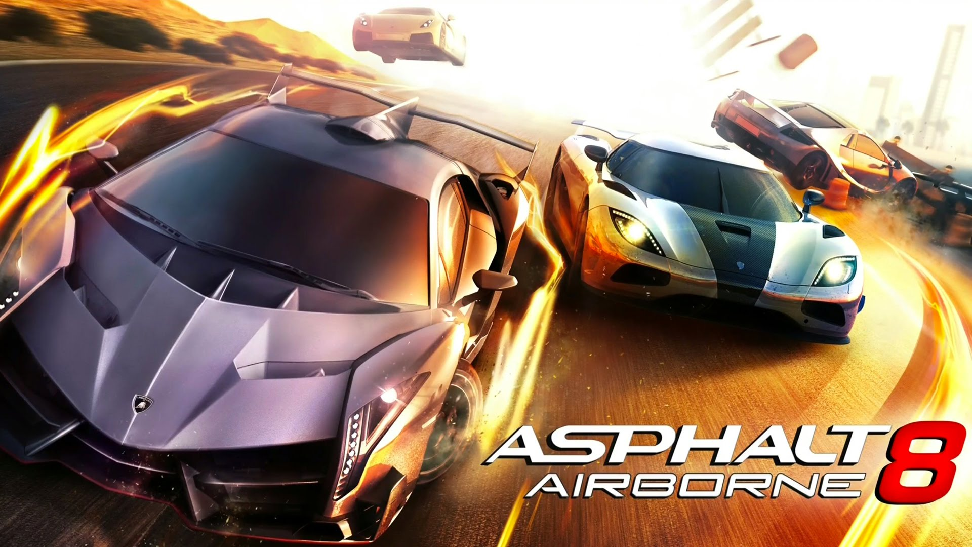 Review Asphalt 8