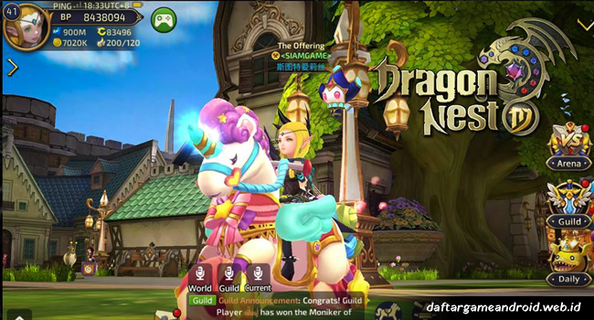 Game Dragon Nest Android2